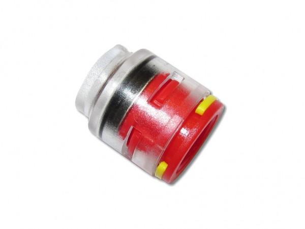 12mm Endstopfen für Mikrorohe Endverbinder mit Clips