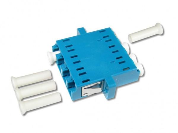 LC quad (4-fach) Kupplung singlemode
