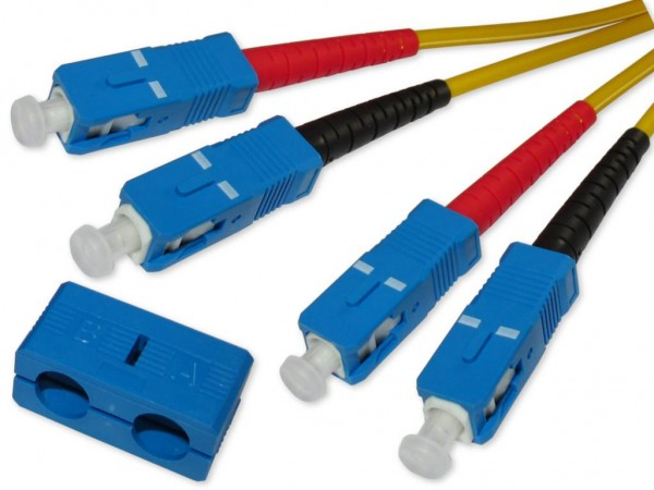 SC-SC duplex LWL Patchkabel 9/125µm OS2