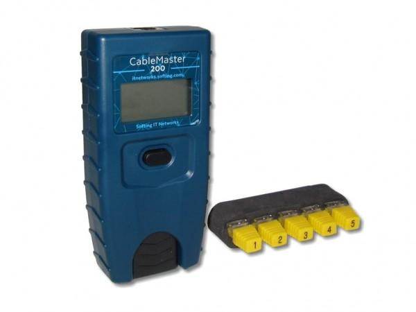 Cablemaster 200 Softing Kabeltester Verdrahtungstester Ethernet