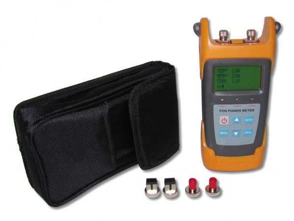 optisches LWL PON Powermeter Pegelmessgerät mit Speicher