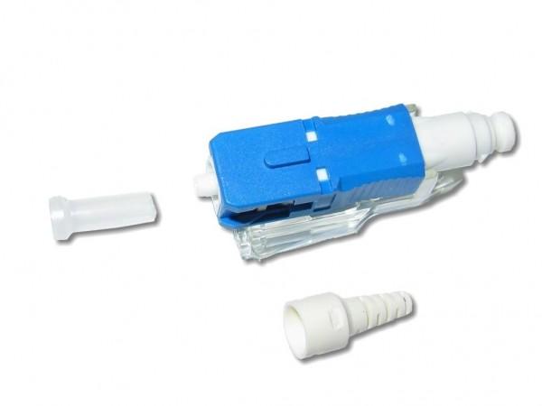 feldkonfektionierbarer LWL SC Stecker singlemode für 0,9mm Ader