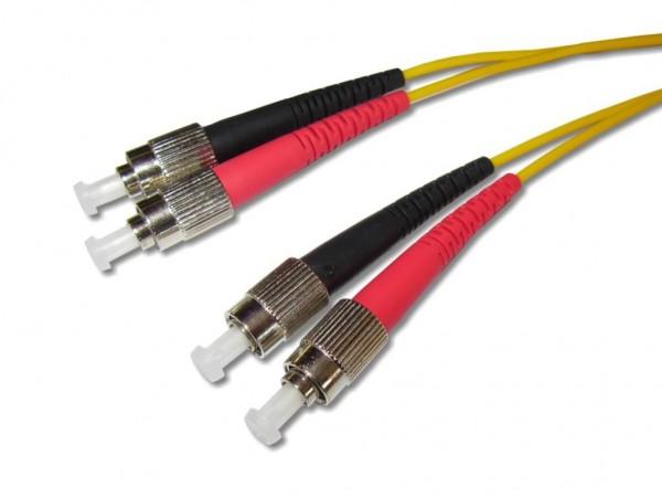 FC/PC-FC/PC duplex LWL Patchkabel 9/125µm G.657A1